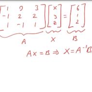Solving Matrix Equations