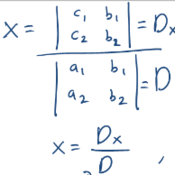 Using Determinants to Classify Systems of 2x2 Matrices