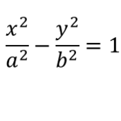 The Standard Equation for a Hyperbola