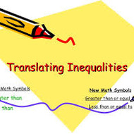 Translating Verbal Phrases into Inequalities