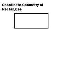 Coordinate Geometry of Rectangles