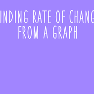 10-20 Finding Rate of Change from a Graph