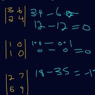 Singular and Non-Singular Matrices
