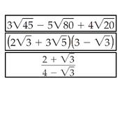 HA2 S5.6 Radical Expressions