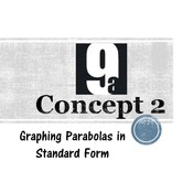 Chapter 9a, Concept 2 - Graphing Parabolas