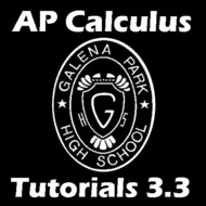 3.3. Increasing-Decreasing Functions. First Derivative Test