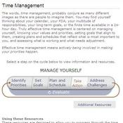 Overview of Time Management Resources