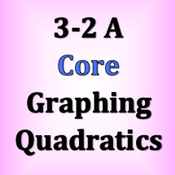 Core 3-2 A Graphing Quadratics