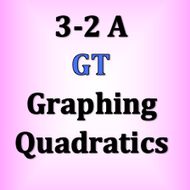GT 3-2 A Graphing Quadratics
