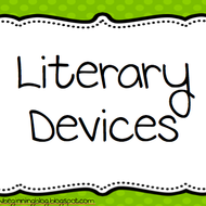 literary devices tutorial sophia learning