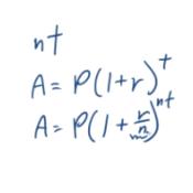 Compound Interest Equation