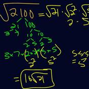 Simplifying Radicals with Prime Factorization