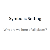 Symbolic Setting