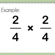 Basic Multiplication Concepts (Fractions), 3-1, 5th