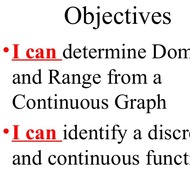 2-16 Domain & Range of Continuous Functions