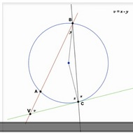 Intercepted Arc Formed by a Tangent and Secant