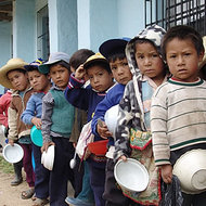 El hambre infantil en Perú