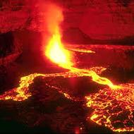 Volcanoes - Eruption Types