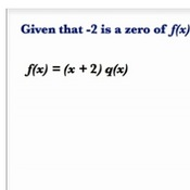 Solving Polynomial Roots with the Factor Theorem