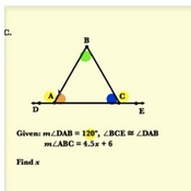 Equilateral Triangle Interior Angles Practice Problems