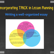 Lesson Planning with TPACK