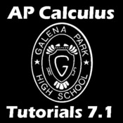 7.1 - Area of a Region Between Two Curves