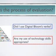Evaluating Lesson Plans: Digital Bloom's