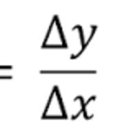 3-8 Slope Formula