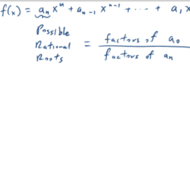 Determining Rational Roots