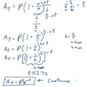 Continuously Compounding Interest Tutorials, Quizzes, and Help ...