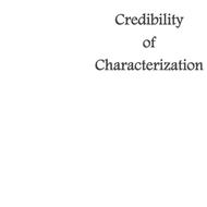 Credibility of Characterization