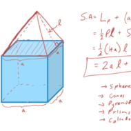 Surface Area of Composite Figures
