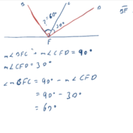 Application of Theorems Involving Perpendicular Lines