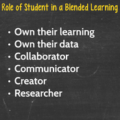 Role of Teacher and Student in Blended Learning