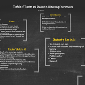 Role of Teacher and Student in 1:1