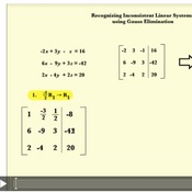 Recognizing Inconsistent Linear Systems