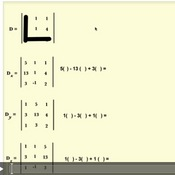 Using Determinants to Classify 3x3 Matrices