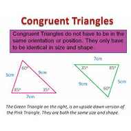 Unit 2.1 Lesson 2 Congruent Figures