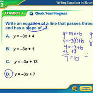 3-14 Writing Equations of Lines Part 2