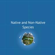 Native and non-native species