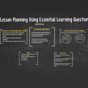 Lesson Planning Using Essential Learning Questions