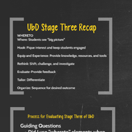 Evaluating Lesson Plans: UbD Planning II