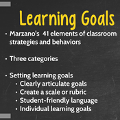 Reflection in Focus: Setting Learning Goals