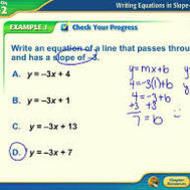 3-14 Writing Equations of Lines Part 2 (due WED 1/7)