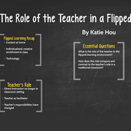 The Role of the Teacher in Flipped Learning