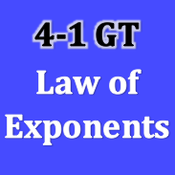 GT 4-1 Law of Exponents