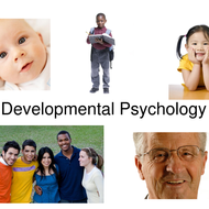 AP Psychology:  Unit IX Developmental Psychology