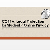 COPPA: Legal Protection For Students' Online Privacy