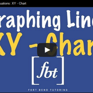 Graphing Linear Equations: xy – Chart