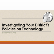 Investigating Your District's Policies on Technology